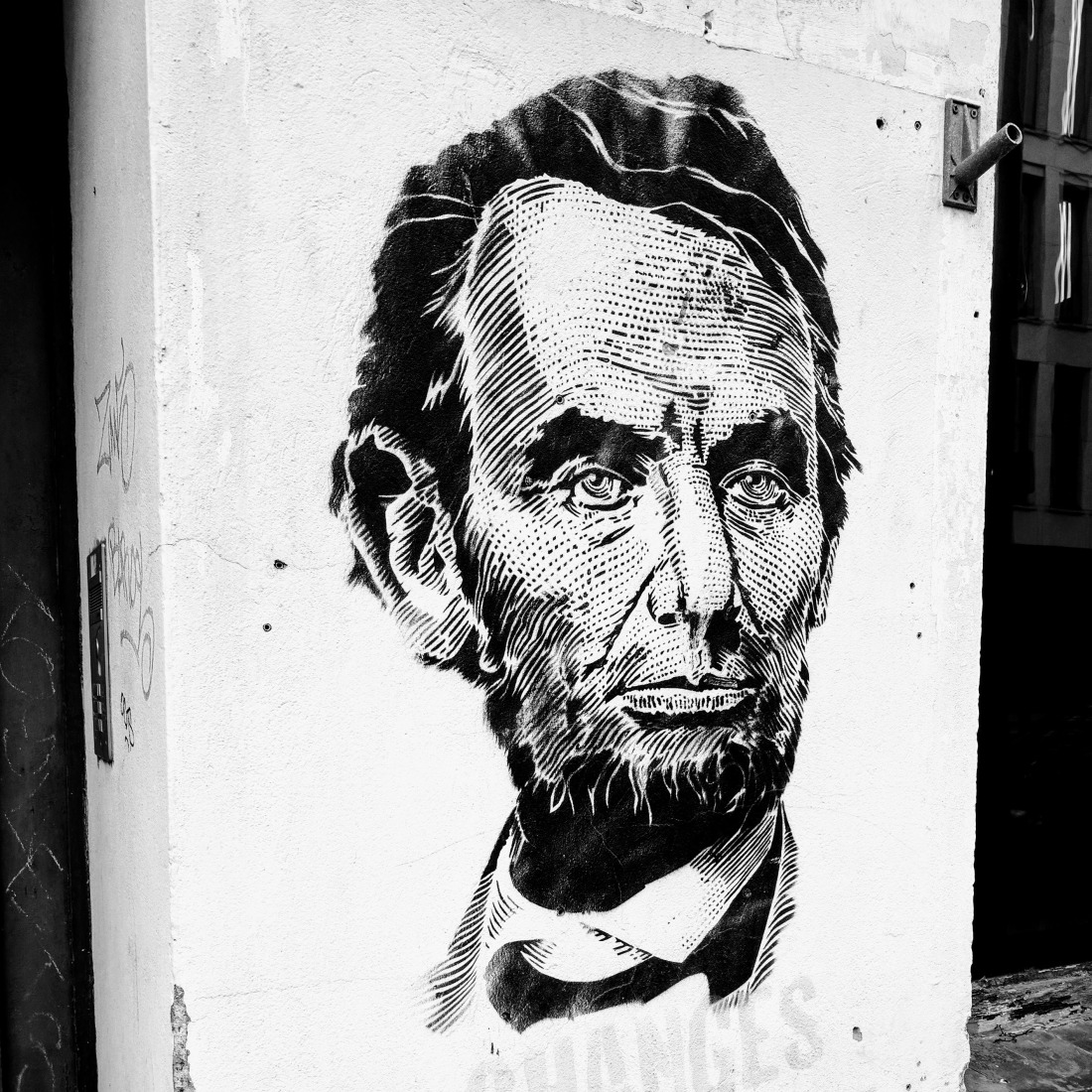 Abraham Lincoln in Berlin, published ArtTravel Blog. Photo by Birgit Pauli-Haack